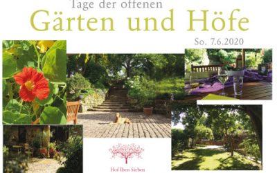 Tage der offenen Gärten und Höfe